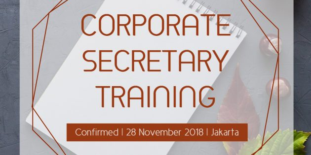Corporate Secretary – PASTI JALAN