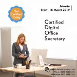 Certified Digital Office Secretary (CDOS) – Available Online