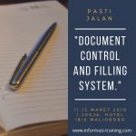 DOCUMENT CONTROL AND FILING SYSTEM – PASTI JALAN
