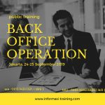 BACK OFFICE OPERATION FOR BANKING
