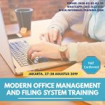 MODERN OFFICE MANAGEMENT AND FILING SYSTEM – Almost Running