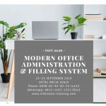 MODERN OFFICE ADMINISTRATION & FILING SYSTEM – Available Online