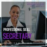 PROFESSIONAL SKILL FOR SECRETARY – Pasti Jalan