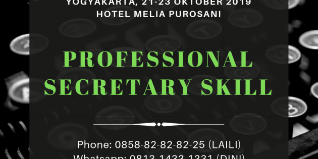 PROFESSIONAL SKILL FOR SECRETARY- Available Online